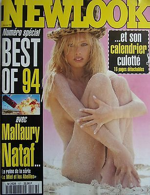 magazine NEW LOOK N° 137- NUMERO SPECIAL BEST OF MALLAURY NATAF  son calendrier