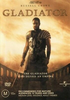 Gladiator (Russell Crowe) DVD R4 Brand New!