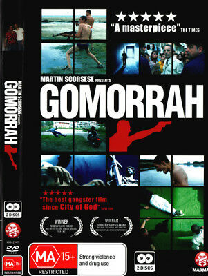 Gomorrah - Mafia Italian World Cinema Foreign DVD R4 New!