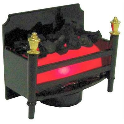 LED Flickering Fireplace 1:12 Scale for Dolls House