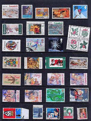 CHRISTMAS Thematic Stamp Collection MINT USED  Ref:TH461