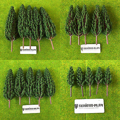 Serious-Play Poplar Trees ~ Model Railway Scenery wargaming terrain Warhammer