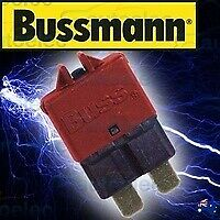 Bussmann Circuit Breaker Replaces Standard Blade Fuse Battery 10A Amp 12V 22710