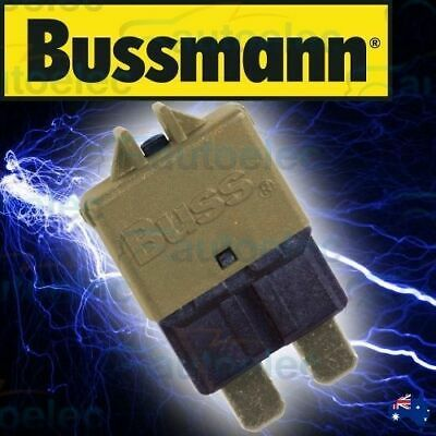 Bussmann Circuit Breaker Replaces Standard Blade Fuse Battery 5A Amp 12V 22705