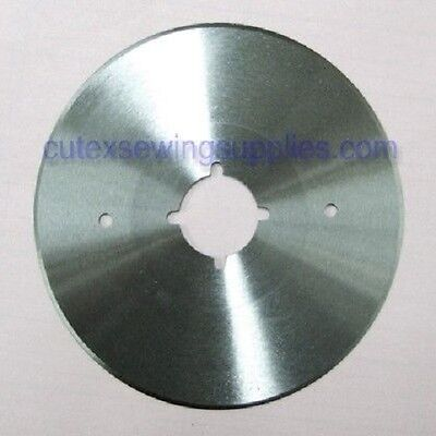 """4"""" Round Replacement Blade For Stand Up Type Electric Fabric Cutters"""