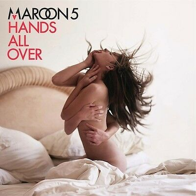 MAROON 5 Hands All Over CD BRAND NEW Feat Lady Antebellum & Christina Aguilera