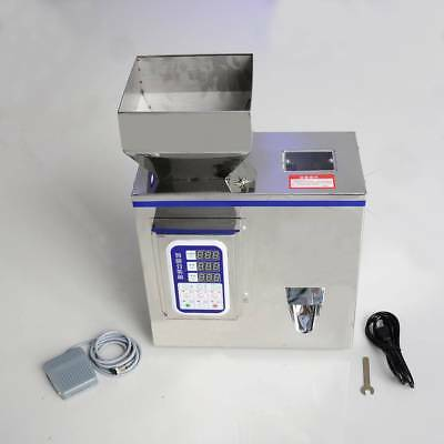 WO 2-100g Semi-Auto Granular Particle Subpackage Device Weighing Filling Machine