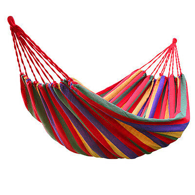 Garden Patio Porch Hanging Rope Swing Chair Seat Hammock Bench Swinging