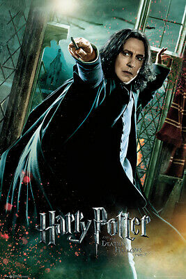 Harry Potter And The Deathly Hallows - Movie Poster (Professor Snape 1)
