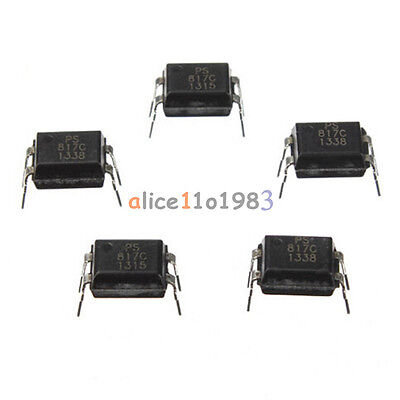 50Pcs PC817 EL817C LTV817 PC817-1 DIP-4 OPTOCOUPLER SHARP Best