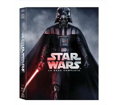 Film Blu-Ray 20TH CENTURY FOX - Star Wars - La Saga Completa (9 Blu-Ray)