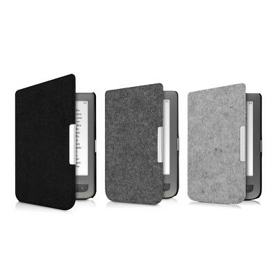 Slim Felt Fabric Case Cover for Pocketbook Touch Lux 3 Basic Lux Basic Touch 2