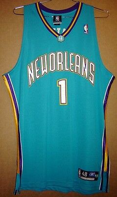 New Orleans Hornets Baron Davis Authentic Nba Jersey
