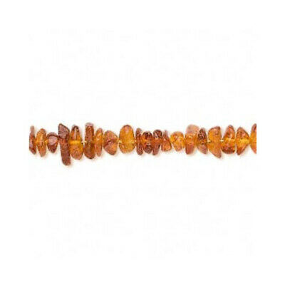 Strand Of 115+ Golden/Brown Baltic Amber 4-6mm Chip Beads FM9833