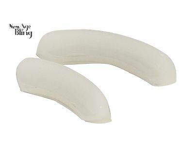 Reusable 2 pc Silicone Grill Mold Bars for Fitting Grillz Teeth Hip Hop Mouth