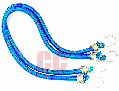 """36/"""" Heavy Duty Bungee Cord 2Pc Tie Down Luggage Secure Straps Trailer Car Van"""