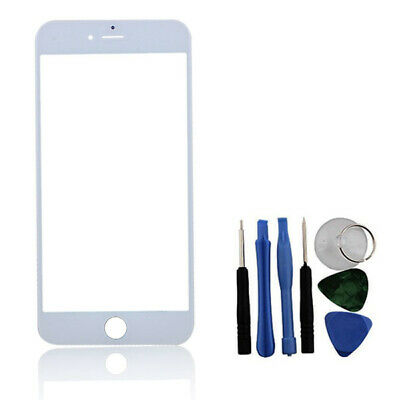 White Front Glass Outer Screen Lens Plus Tools For iPhone 6 6S 4.7""