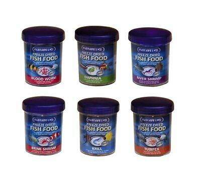 Interpet Freeze Dried Fish Food Coldwater Tropical Freshwater Marine Aquarium