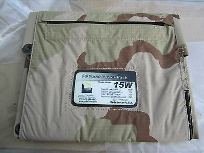 Power Flex Technology Global Solar P3 Solar power pack Model 16010-15W