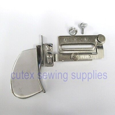 Sewing Machine Single Fold Tape Binder Binding Attachment With Swing Bracket