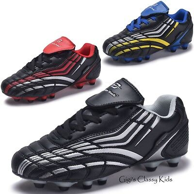 New Boys & Girls Outdoor Soccer Tennis Shoes Cleats Youth Kids Baseball Football