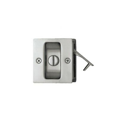 Quality Cavity Sliding Door Lock 100CPV Privacy Polished Chrome