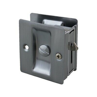 Quality Cavity Sliding Door Lock 100SSV Privacy Stainless Steel