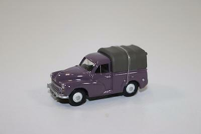 OO Scale Classix Cars MORRIS MINOR PICK UP ROSE W/REAR COVER EM76634    CL033