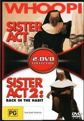 Sister Act & Sister Act 2 Back In The Habit DVD R4 New!