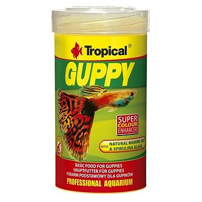 Tropical Guppy - Basisfutter für Guppies