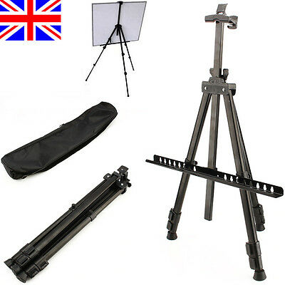 Artist Field Studio Painting Easels Tripod Display Telescopic White Board Stand