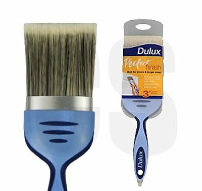 "DULUX PERFECT FINISH 3"" / 75mm PAINT BRUSH - NO LOSS BRISTLES"