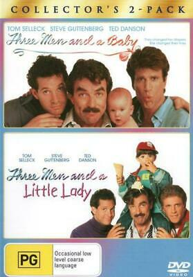 Three Men And A Baby / 3 Men And A Little Lady DVD R4 New!