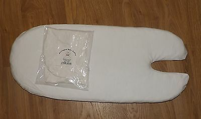 New 2 x White Fitted Sheets for Stokke Xplory carrycot  - 100% Cotton