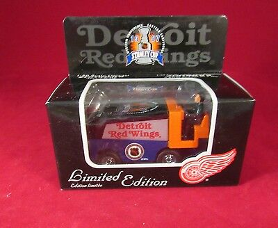 1997 Stanley Cup Champions Le Nhl Zamboni Detroit Red Wings 1:50 Scale