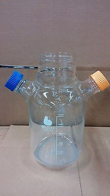 BELLCO Glass 3000mL C-3000ML PYREX 1585-4L Spinner Flask