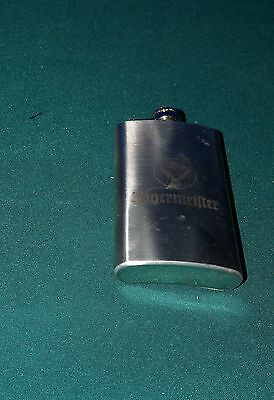 Jagermeister Stainless Steel Flask 6Oz
