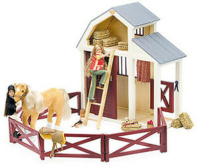 NEW Only Hearts Club English Horse Stable 38x15x46cm