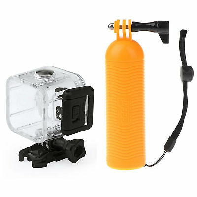 Waterproof Diving Underwater Case Cover Floaty Grip for GoPro Hero 4 Session