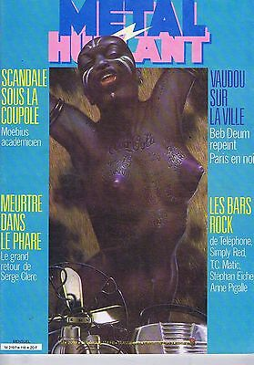 Metal Hurlant FRENCH COMIC BOOK no. 118