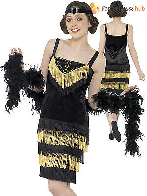 Teen 1920s Girls Flapper Fancy Dress Child Gatsby Charleston Costume 20s Outfit