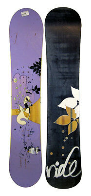 Ride Solace All-Mountain Snowboard 142 cm Purple/Peacock - USED