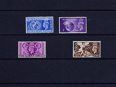 GB 1948 OLYMPICS Games SPORTS stamps Set 4v SG495-498 UNMOUNTED MINT Ref:W770