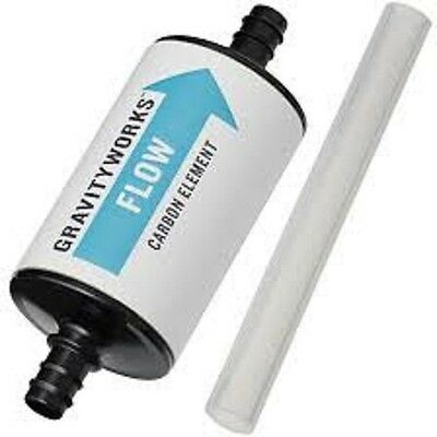 Platypus Gravityworks Carbon Element. Hiking Camping Outdoor Filter Water. NEW