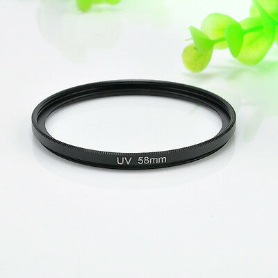 New 58mm Circular Polarizing UV Filter Lens Protector For Canon Nikon 18-55mm FT