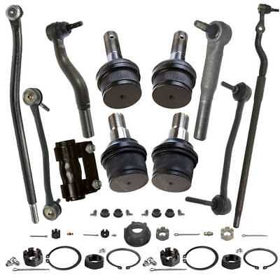 Eleven (11) Pieces Chassis Suspension Kit For a 00-05 Ford F-250 350 Excursion