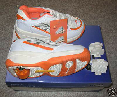 High Quality Size 8.5 Roller Shoe Skate Orange Color - Brand New Heelys Style
