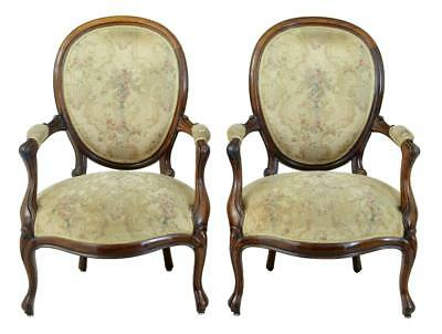 Pair Of 19Th Century French Rosewood Armchairs