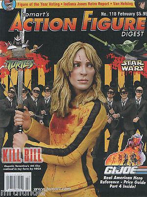 Tomart's Action Figure Digest #118 Star Wars Kill Bill Van Helsing Indy Jones