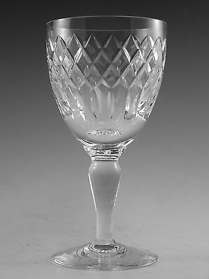 "Royal BRIERLEY Crystal - COVENTRY Cut - Wine Glass / Glasses - 6"" (1st)"
